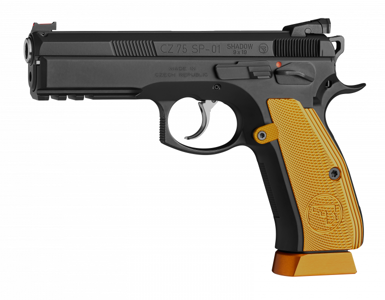 cz 75 sp 01 shadow orange left